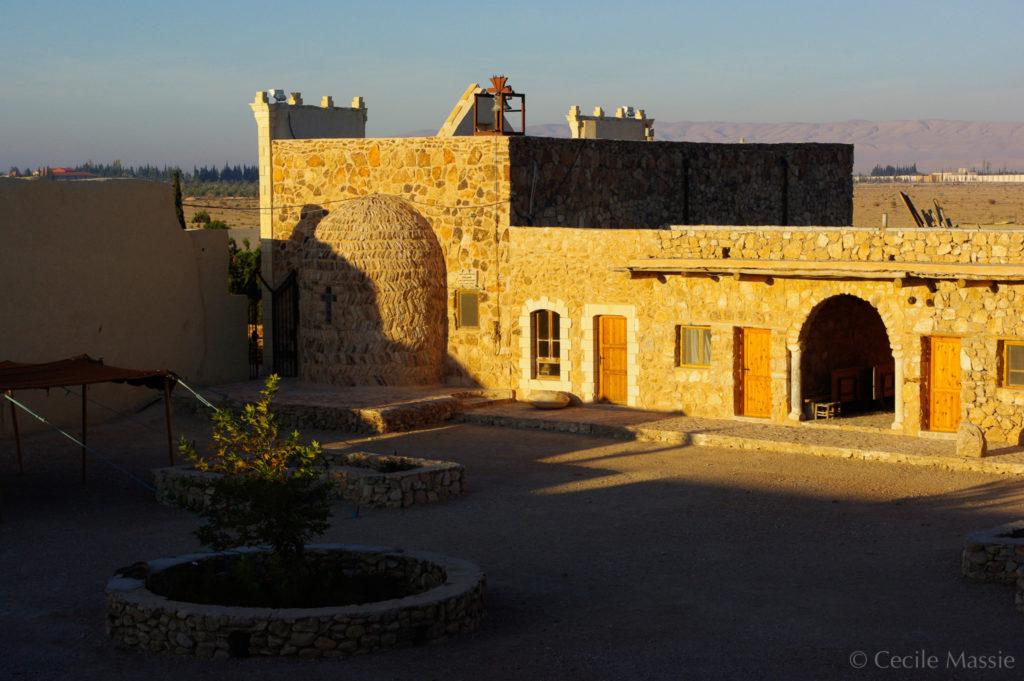 Monsatère de Deir Mar Elian, Syrie, avant qu'il ne soit partiellement détruit par Daech