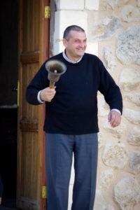 Le Père Jacques à Deir Mar Elian